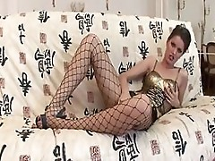 Bitch In Fishnet Stockings Pricessa Double Fucked