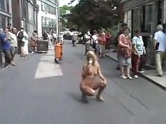 Cynthia Paul shocks folk walking naked in public