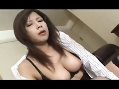 Double lollypop sucking by blazing Asian fellatrix
