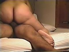 Bubble Butt Latina Riding Cock