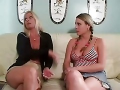 Nasty MOM BROOKIE HUNTER & teen Girl