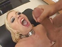 five cumshot swallow