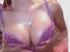 Awesome dildo fucking babe