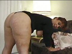 Fat Chick Pumps On Dick!
