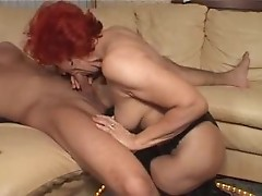 Redhead German Mature Mom Fucked By Teen Boy