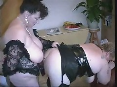Stolen video. My fat lesbian mom !! Must see