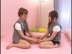 JAV Girls Fun - Lesbian 64. 4-4