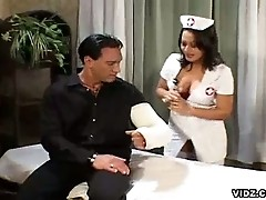 Wild whore nurse sucks real hard