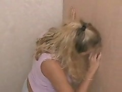 Amateur Girl Sucking The Glory Hole - csm