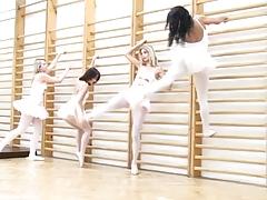 Ballerina Gangbang
