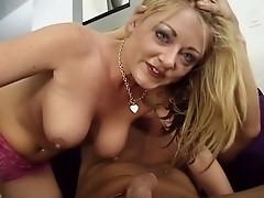 Sophie Dee gets throated... hard DTD