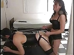 mistress ring slave with strapon