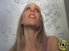 Julia Ann visiting a gloryhole