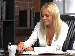 Slutty Office Babe Bree Olson
