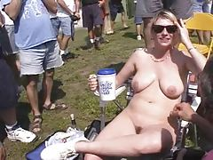 Fun at a Nudist rally 6