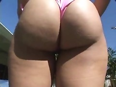 Nikara oils her butt cause she likes stiff cock in