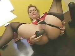 nylon stockings dildo toying compilation ST69
