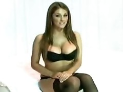 Lucy Pinder Nuts Big Boobs Special topless vid