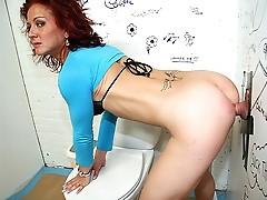 Surprise fuck on the toilet