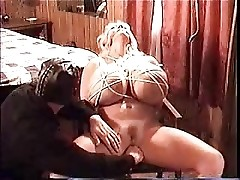 Maxi Mounds - punishing a naughty busty whore.