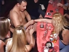 Girls sucking cocks at hen party! - Part 5