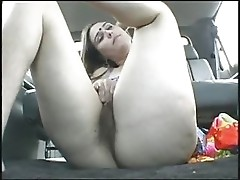 Amateur hairy pussy chick