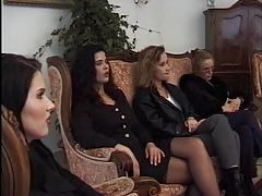 Lesbian 'bottle' garden party