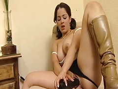 Couple masturbate to orgasm