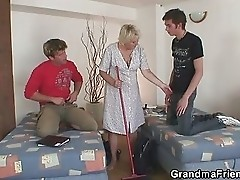 Granny gets the payment for her room