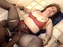 Redhead slut loves teasing men of color