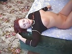 Redhead fucking in the morning