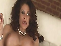 MILF With Big Tits Sheila Marie Home Alone
