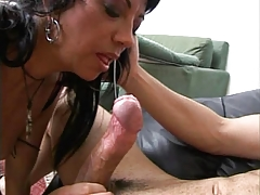 Erica is having fun with two guys