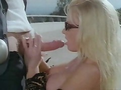 Nikki Tyler is swallowing dick in the car
