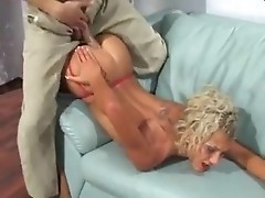 He is the first to stretch narrow holes of slut