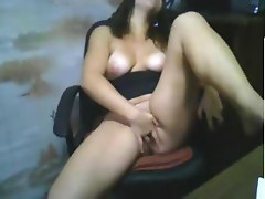 Amateur Girl Masturbating For Webcam 073