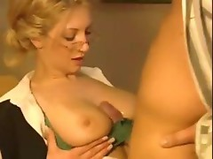 Teacher With Amazing Tits Fucked Anally