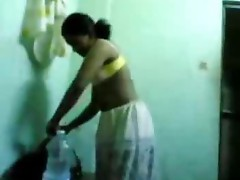 Indian Kerala girl exposed after shower