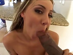 Delilah Strong Swallow black man jizz