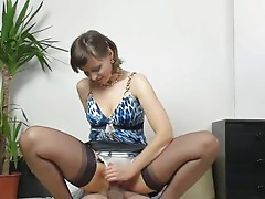 Kirsty Blue - Handjob