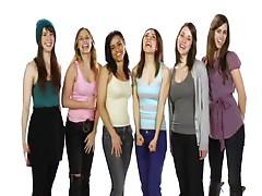 social mesaage girls:)