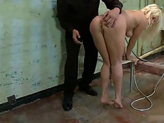 Nice Blonde LL gets a Hard Dicking up the Ass