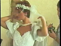 Sharon Mitchell - wedding dress