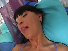 Vicki Star and Irina love to swallow hot sausages