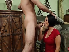 Thick dick perfectly fits in a tight, wet pussy of Loni Evans