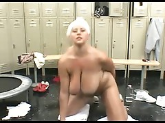 Watch wet big boobs of bbw after her masturbation