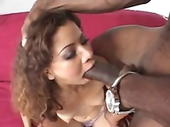 Fucking chilo chick with black huge monster cock