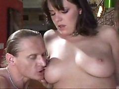 Pretty Missy Monroe gives head to dick of a jock