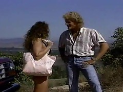 Vintage star Ashlyn Gere fucks in the open air