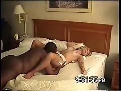 Nina Black fucks BBC in Hotel #3